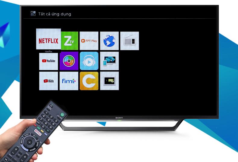 Internet Tivi Sony 48 inch KDL-48W650D - Sử dụng tivi bền đẹp, an toàn với bộ tứ bảo vệ X-Protection PRO